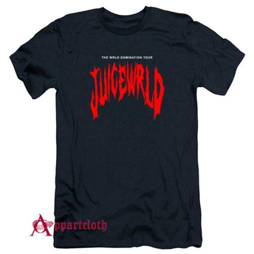 THE WRLD DOMINATION TOUR JUICE WRLD T-Shirt