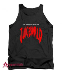 THE WRLD DOMINATION TOUR JUICE WRLD Tank Top