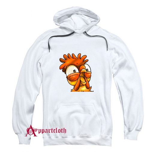 Chicken Emote Funny Hoodie