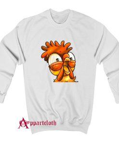 Chicken Emote Funny Sweatshirt