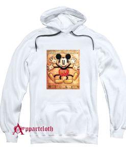 Mickey Mouse Vitruvian Hoodie