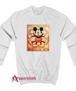 Mickey Mouse Vitruvian Sweatshirt
