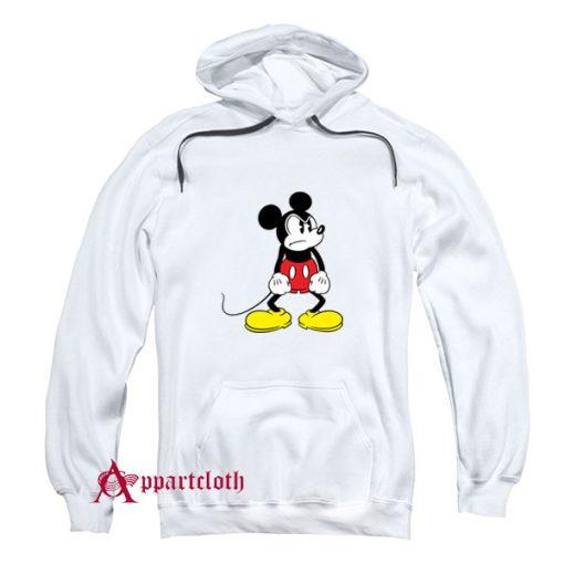 Vintage Mickey Angry Hoodie