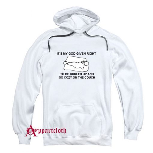 Cozy On The Couch Hoodie