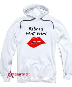 Retired Hot Girl Hoodie