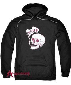 Weirdo Skull Hoodie