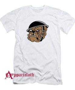 Angry Military Bulldog T-Shirt