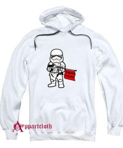 Stormtrooper Pew Pew Wars Hoodie
