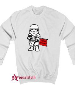 Stormtrooper Pew Pew Wars Sweatshirt