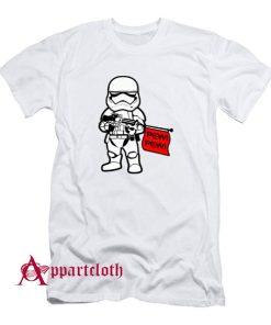 Stormtrooper Pew Pew Wars T-Shirt
