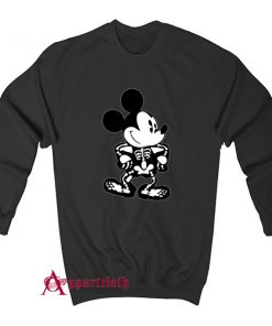 Disney Skeleton Halloween Sweatshirt