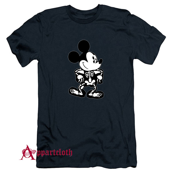 Disney Skeleton Halloween T-Shirt