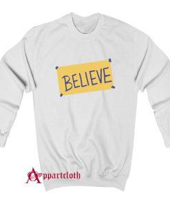 Ted Lasso Believe Sweatshirt